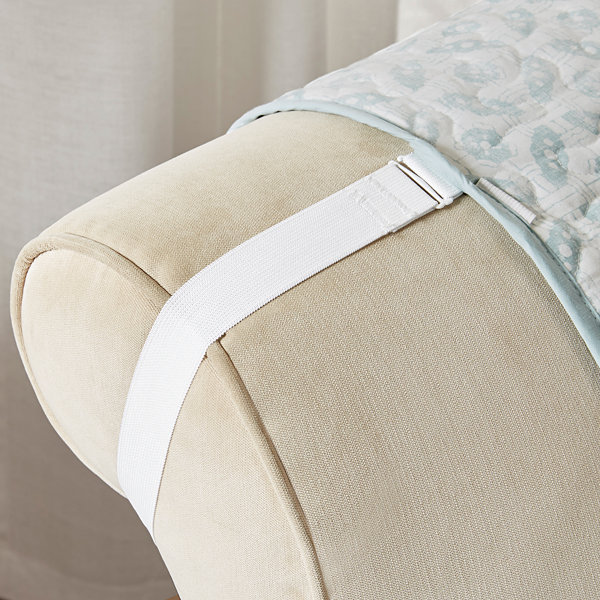 Madison Park Vanessa Cotton Printed Arm Chair Protector