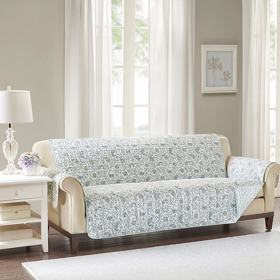 Madison Park Vanessa Cotton Printed Sofa Protector