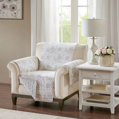 Madison Park Harmony Cotton Printed Arm Chair Protector