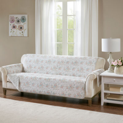 Madison Park Harmony Cotton Printed Sofa Protector