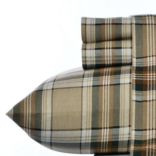 Eddie Bauer Edgewood Plaid Pine 3pc. Twin XL Sheet Set