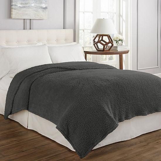 Beautyrest Cosette Plush Blanket