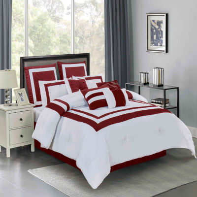 Wonder Home Constance 10PC Hotel Inspired Comforter Set