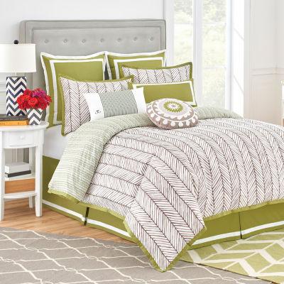 Jill Rosenwald Arrows 4-pc. Comforter Set