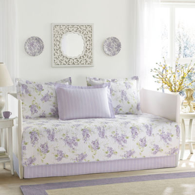 Laura Ashley Keighley Purple Daybed Set