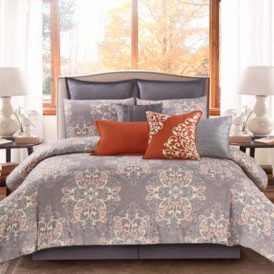 Wonder Home Takara 10PC Cotton Printed Comforter Set