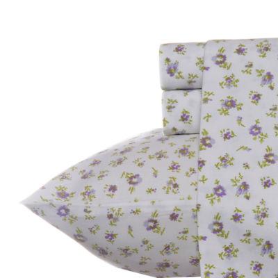 Laura Ashley Petite Fleur Heather Sheet Set