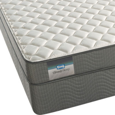 BeautySleep® Abner Cay Firm Tight-Top Foam Mattress + Box Spring