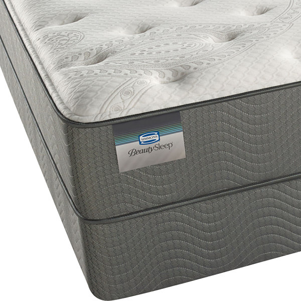 BeautySleep® Alexander Hills Plush Tight-Top Mattress + Box Spring