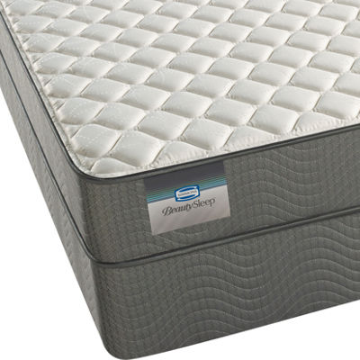 BeautySleep® Adrian Firm Tight-Top Memory Foam Mattress + Box Spring
