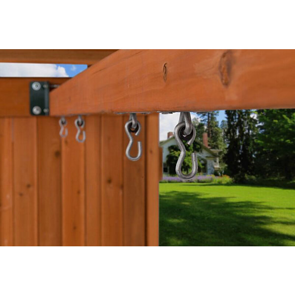 Creative Cedar Designs Standard Trapeze Bar & Rings