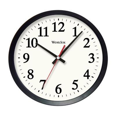"Westclox 14"" Round Electric Office Wall Clock"""