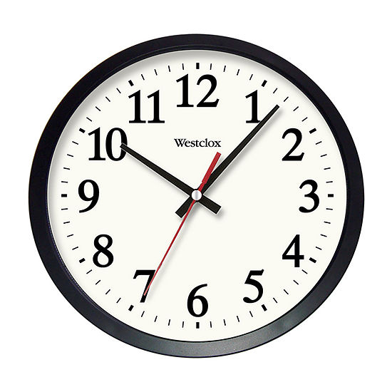 Westclox 14 Round Electric Office Wall Clock