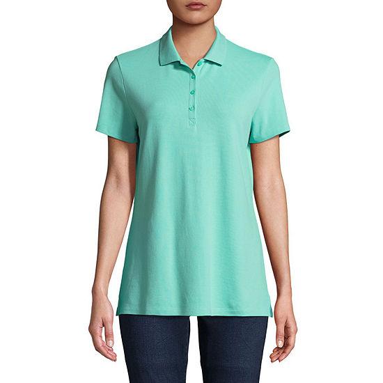 St Johns Bay Womens Polo Shirts