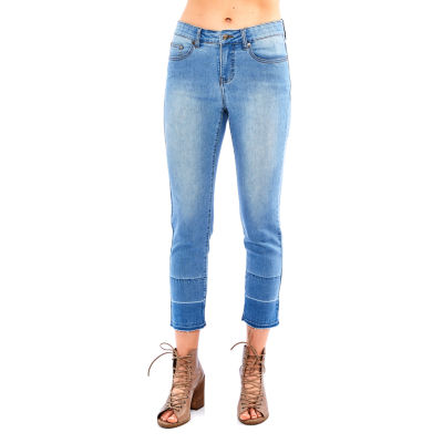 Skyes The Limit St. Lucia Slimming Raw Edge Crop Jean- Plus