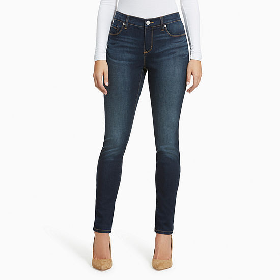 Gloria Vanderbilt Womens Mid Rise Relaxed Fit Jean - Plus