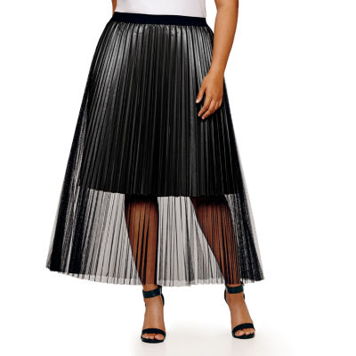 Project Runway Pleated Skirt - Plus