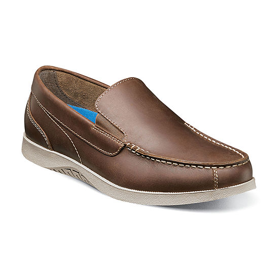 Nunn Bush Mens Bayside Slip-On Shoe
