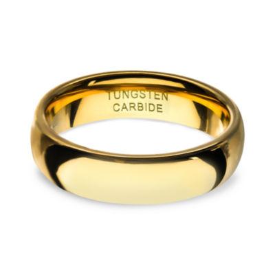 Inox Mens Jewelry Mens 8MM Tungsten Wedding Band