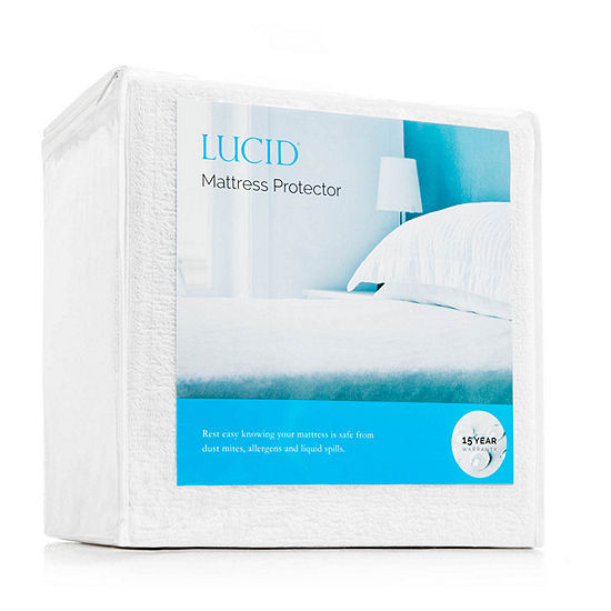 Lucid Premium Waterproof Allergen Barrier Mattress Protector
