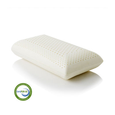 Malouf Z Zoned Memory Foam Pillow - Low Loft Firm