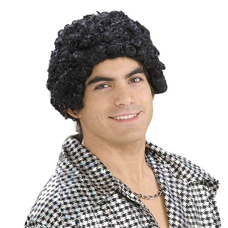 Disco Afro Adult Wig, One Size , Multiple Colors