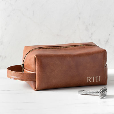 Cathy's Concepts Personalized DOPP® Vegan Leather Toiletry Bag