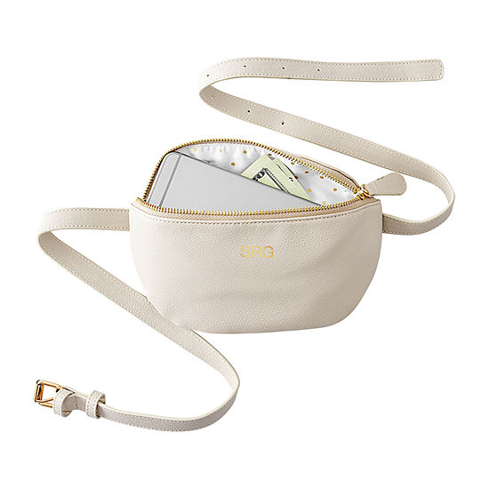 Cathy's Concepts Personalized Vegan Leather Belt Bag