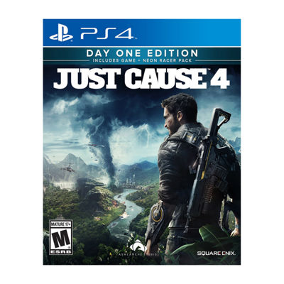 Playstation 4 Just Cause 4: Day One Edition Video Game
