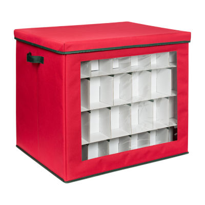 Honey-Can-Do 120-Count Ornament Storage Container