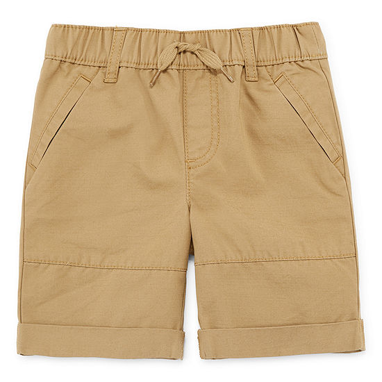 Okie Dokie Boys Mid Rise Pull-On Short Toddler