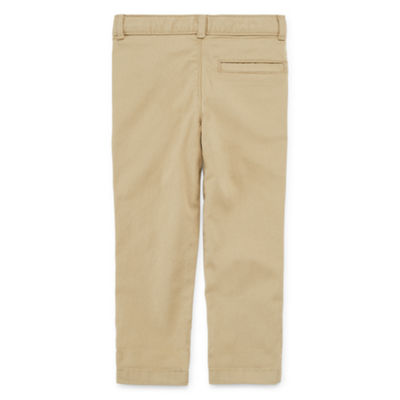 Okie Dokie Toddler Boys Twill Chino Pant