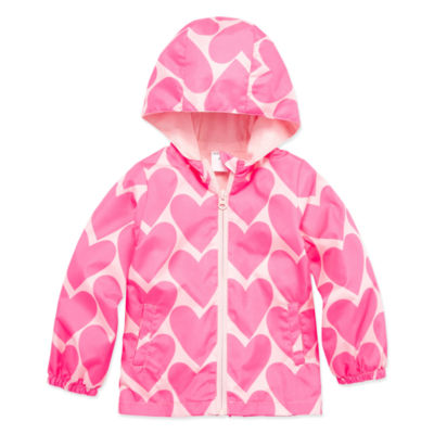 Okie Dokie Girls Lightweight Windbreaker-Toddler