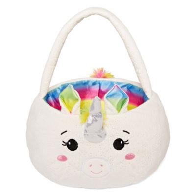 City Streets Unicorn Plush Easter Baskets