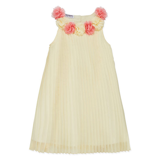 32502f61 Blueberi Boulevard Sleeveless Floral A-Line Dress - Toddler Girls - JCPenney