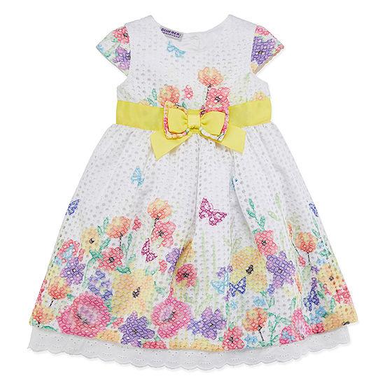 5afcc408 Blueberi Boulevard Short Sleeve Party Dress - Toddler Girls - JCPenney