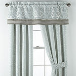 JCPenney Home Mayer Light-Filtering Rod-Pocket Set of 2 Curtain Panel