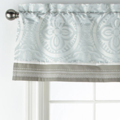 JCPenney Home Mayer Rod-Pocket Tailored Valance