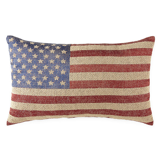 Jcpenney Home Americana American Flag Pillow
