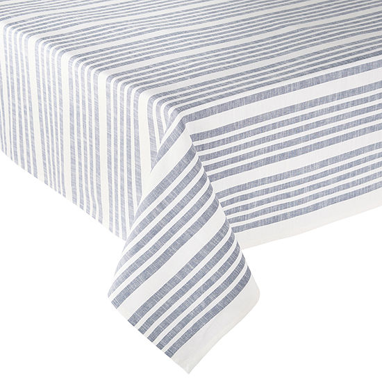 JCPenney Home Shiloh Stripe Tablecloth