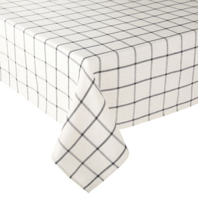 JCPenney Home Shiloh Check Tablecloth