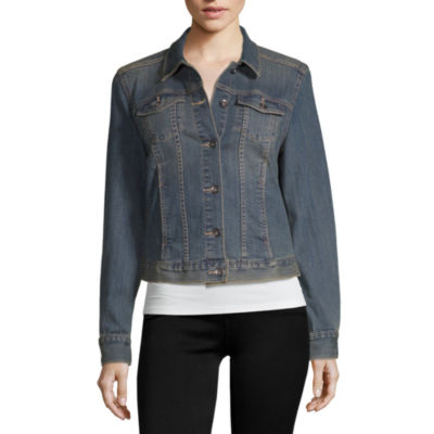 Liz Claiborne Denim Jacket - Tall