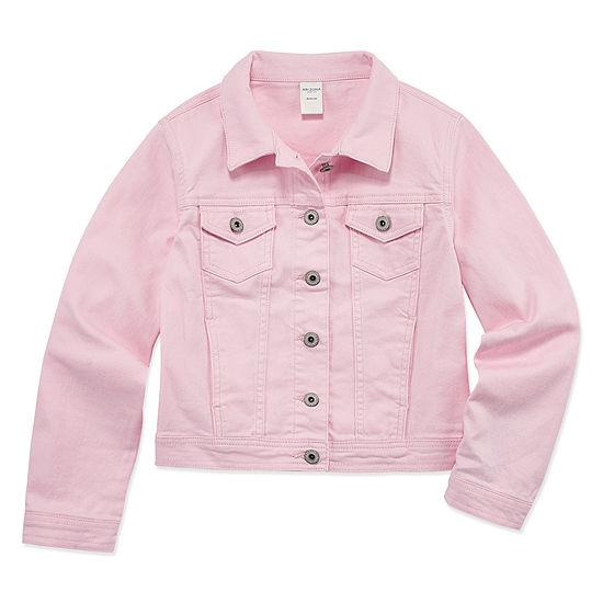 Arizona Pink Denim Jacket - Girls' 4-16 & Plus