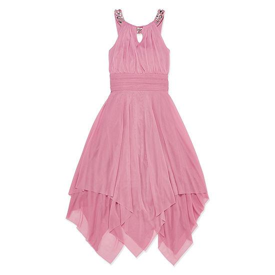 Love Jayne Sleeveless Party Dress - Big Kid Girls