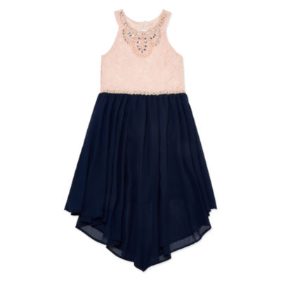 Love Jayne Sleeveless Party Dress - Big Kid Girls