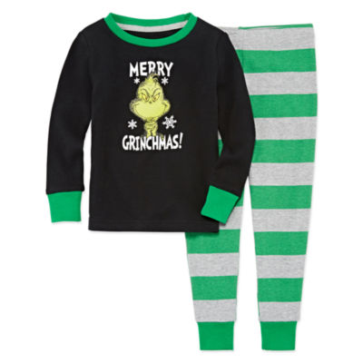 The Grinch 2 Piece Pajama Set - Boy's Toddler