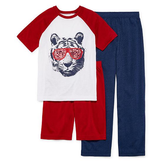 Arizona Boys 3-pc. Pajama Set Preschool / Big Kid