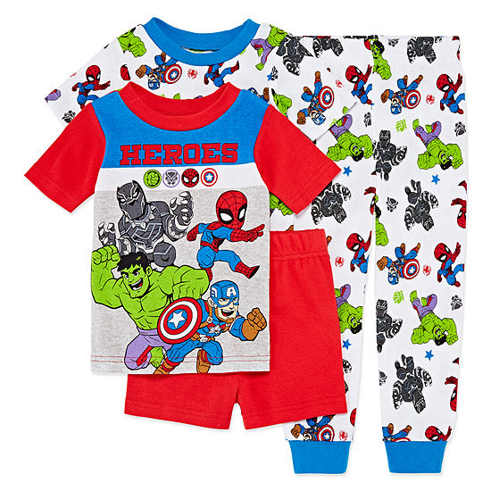 4-pc. Avengers Pajama Set Toddler Boys