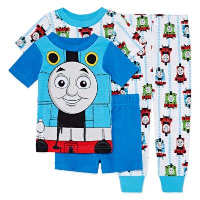 4-pc. Pajama Set Toddler Boys