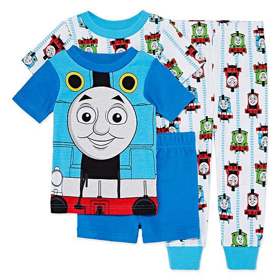 4-pc. Thomas and Friends Pajama Set Toddler Boys